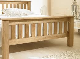 Oak Bed Frame Emporia Beds Richmond Chunky Oak Bed Frame Bed Frames Beds