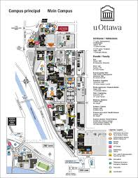 Rideau Centre Floor Plan by Pdf Maps Facilities University Of Ottawa
