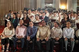 Who Appoints The Cabinet Members List Duterte Appointees Who Took Their Oath On January 9 2017
