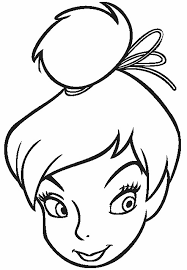 picture tinkerbell colouring pages farainsabina