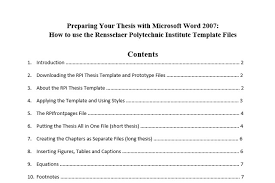 table of contents generator 10 best table of contents templates for microsoft word