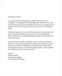 9 client letter templates free sample example format download