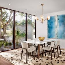 art for dining room living room contemporary with white wall wood