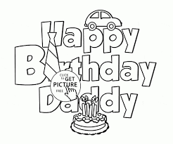 coloring pages for dads birthday free coloring pages of dad