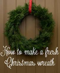 how to make real wreaths my web value