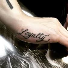 loyalty u0027 tattoo wedding band me want ink pinterest tattoo
