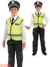 Police Halloween Costume Kids Childs Policeman Costume Hat Boys Police Fancy Dress Kids