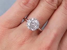 cut solitaire engagement rings ct cut solitaire engagement ring g si3