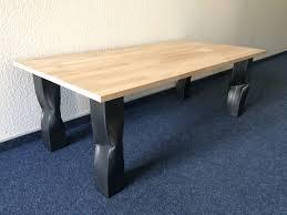 Esszimmertisch Royal Oak Tischbeine Rohr Knick Bruised Design Tisch Tischgestell Tischkufen