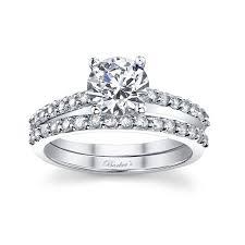 engagement rings sets barkev s white gold diamond engagement ring set 7572s