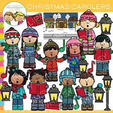 christmas carolers christmas caroling clip images illustrations whimsy