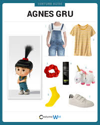 despicable me halloween costumes dress like agnes gru costumes halloween costumes and halloween 2017