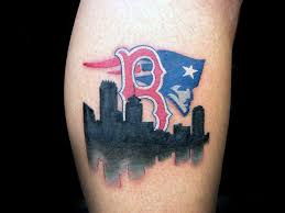 heartbeat city tattoo 60 boston red sox tattoos for men baseball ink ideas