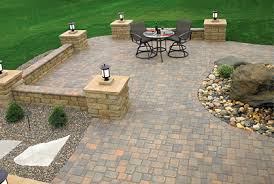 Best Patio Pavers Ideas Designs And  Pictures - Backyard stone patio designs