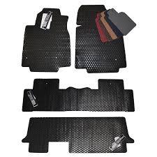 honda pilot all weather mats pilot custom all weather rubber floor mats