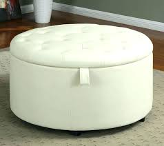 guernsey white leather storage ottoman bench u2013 keepcalm me