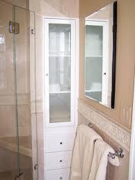 built in linen closet bathroom ideas