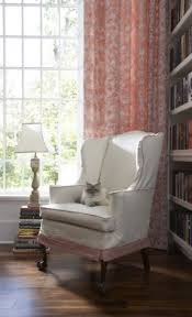 White Slipcover Dining Chair Wingback Chair Slipcover In Home Office Traditional With White