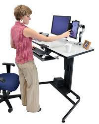 desk the incredible ergotron workfit d sit stand pertaining to