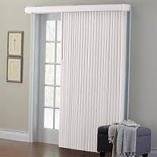 window treatments for doors with glass sliding blinds amazon com
