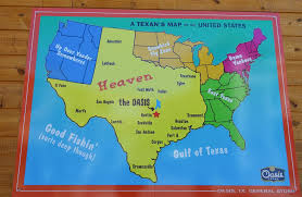 can you me a map of the united states a texan s map of the united states tx usa