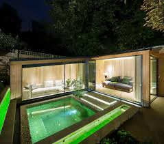 Home Lighting Design London by London Plunge Pool Design Contemporary With Glass House Steel Fire