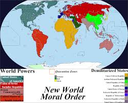 World Map Germany by New World Moral Order Map By Iori Komei On Deviantart