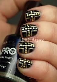 dark mark nail decal beauty nails pinterest awesome