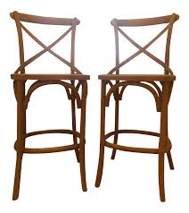 Restoration Hardware Madeline Chair Review Madeleine Armless Counter Stool Weathered Oak Drifted A Pair