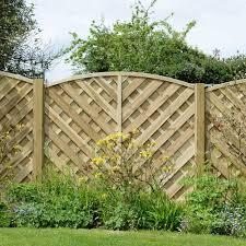 grange elite st lunairs fence panel garden street