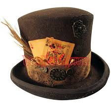 mens steunk top hat mci 6533 from