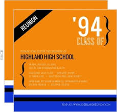high school reunion invites blue and gray high school reunion invitation reunion