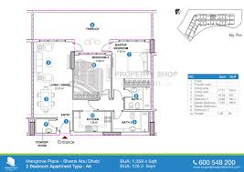 6 Bedroom Floor Plans Floor Plans Mangrove Place Shams Abudhabi Al Reem Island