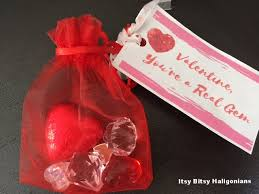 Print On Business Cards Valentine You U0027re A Real Gem Instructions U0026 Free Printable Tag