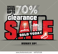 ads design clearance sale icon web stock vector 497537113