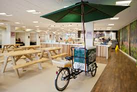 Office Canteen Design by The Canteen London