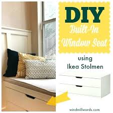 bench seats ikea storage bench seat ikea 5 more ways to fake built in shelving the