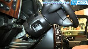 how to install replace ignition switch 2002 09 gmc envoy chevy