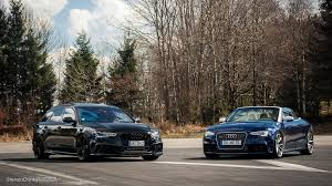 audi rs6 vs audi rs6 avant c7 vs audi rs5 cabriolet awesome duo shoot flickr