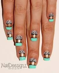 158 best aztec nails images on pinterest aztec nails manicures