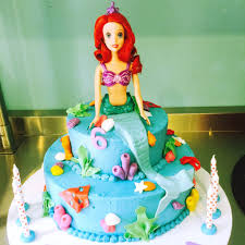 mermaid cakes mermaid cake two tiered giuliana s cakes