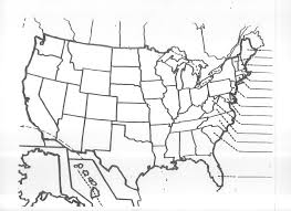Time Zones Map United States by Blank United States Map Quiz Unit 3 Mr Reid Geography For Life