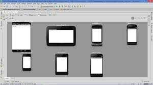 android preview previewing app layout on various devices and screen sizes without