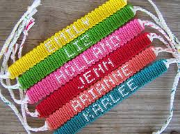 friendship bracelet with name images Cool cool string bracelet friendship with name interesting to make jpg