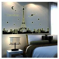 paris bedroom wall decor sticker decals vinyl stickers home decor