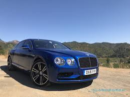 blue bentley 2016 2017 bentley flying spur v8 s first drive slashgear