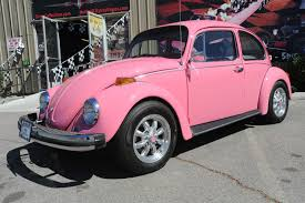 volkswagen classic car photo collection classic pink vw beetle