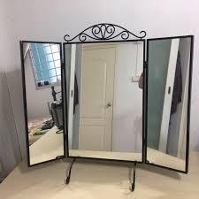 ikea karmsund table mirror furniture u0026 home others on carousell