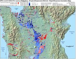 Virginia Beach Flood Map by 2004 Flood Archive