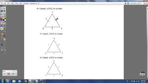geometry semester 1 benchmark exam study guide youtube